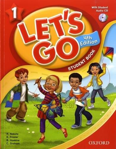 はじめての子供オンライン英会話の教材・テキストにおすすめの「Let's Go(レッツゴー)」