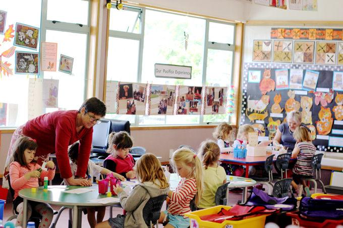 春休み スプリングスクール・キャンプ・キッズプログラム2018 海外 幼稚園・小学生プログラムの様子